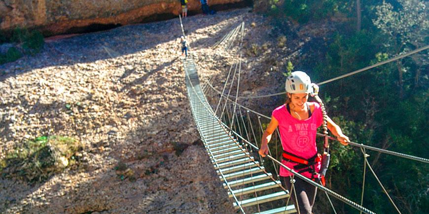 Activitat Trekking Pont tibetà